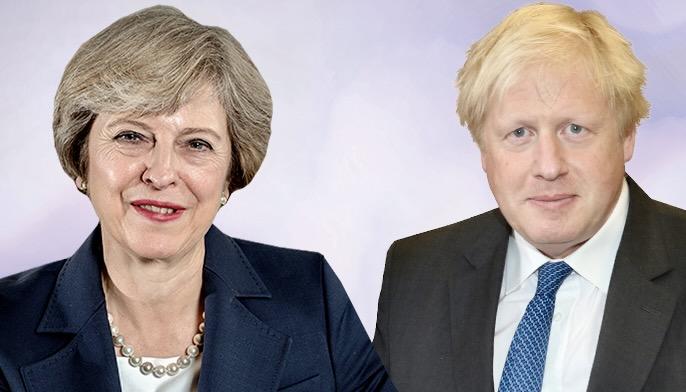 Theresa May'dan Boris Johnson'a '12 Nisan' itirazı