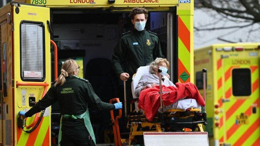 İngiltere'de son 24 saatte 112 can kaybı