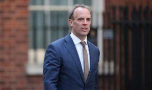 İngiltere Dışişleri Bakanı Dominic Raab'ın Kıbrıs ziyareti İngiliz basınında