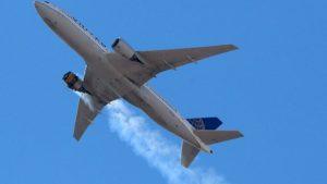 Havada büyük panik: 231 yolcu taşıyan uçağın motoru havada patladı
