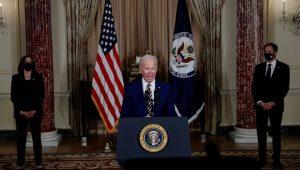 Biden: 'Amerika geri döndü, diplomasi geri döndü'