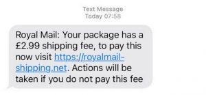 Royal Mail adında dolandırıcılık amacıyla gönderilen mesajlara dikkat