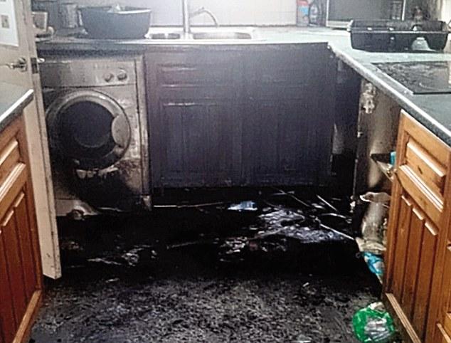 Bulaşık makinesi salona fırladı aile hayatının şokunu yaşadı
