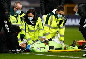 Wolverhampton-Liverpool maçında Rui Patricio hastaneye kaldırıldı