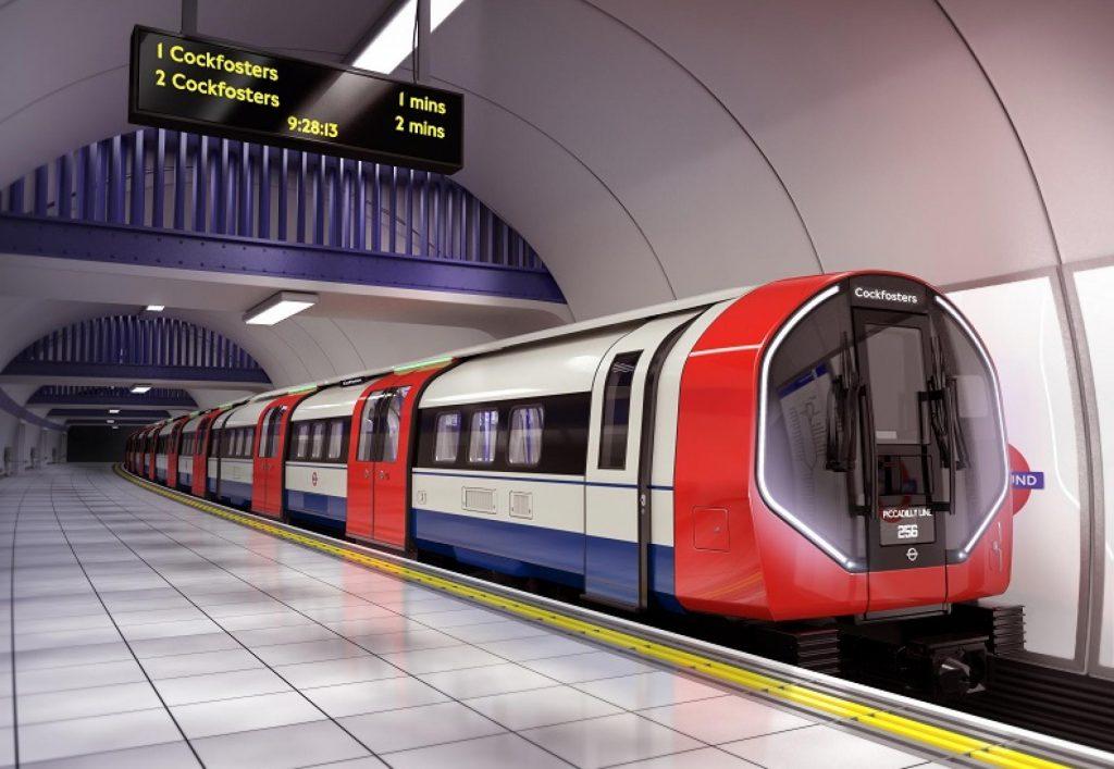 TfL yeni Piccadilly Line tren tasarımını tanıttı