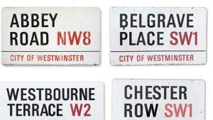 Abbey Road'un tabelası 37 bin pound'a satıldı