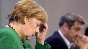 """Almanya Başbakanı Merkel: """"Virüsü yenemedik, peşimizi bırakmıyor"""""""