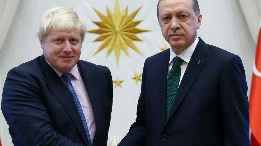 Johnson ile Erdoğan arasında kritik görüşme