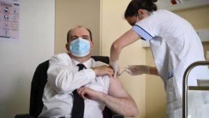 Fransa Başbakanı Castex AstraZeneca aşısı oldu
