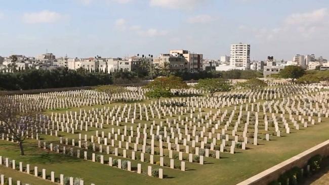 Gazze'deki İngiliz Mezarlığı