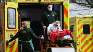 İngiltere'de son 24 saatte 45 can kaybı