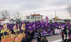 İstanbul Sözleşmesi'nin feshedilmesine karşı eylem