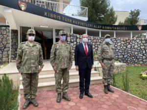 KKTC Cumhurbaşkanı Tatar: 'Türk askeri Ada'dan bir daha gitmeyecek'