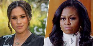 Michelle Obama: Meghan Markle'ın Kraliyet ailesiyle ilgili anlattıkları çok üzücüydü