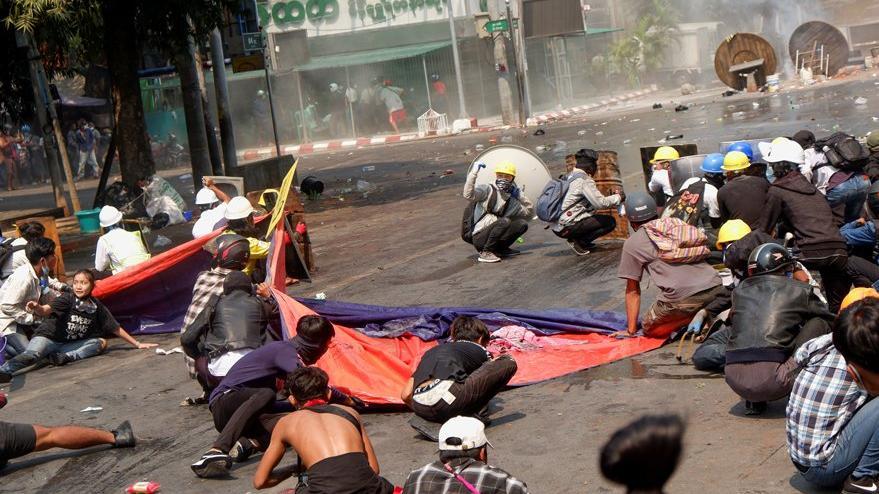 Myanmar'da askeri darbenin sonucu: En az 54 insan öldü
