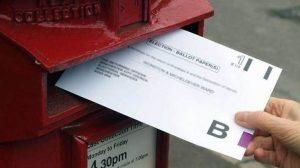 Önümüzdeki seçimler için posta oyunuzu alabilirsiniz