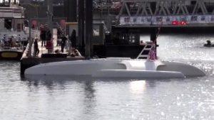 Tam otonom yapay zeka kaptanlı gemi İngiltere'den yola çıkıyor