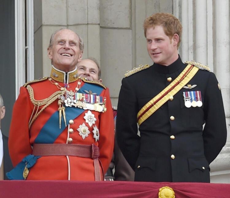 Prens Harry Londra'da