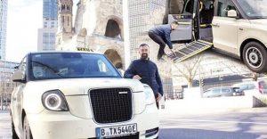 Almanya'da taksicilik yapan Türk, Londra'daki taksilerden alınca Berlin'den en çok tercih edilen taksici oldu
