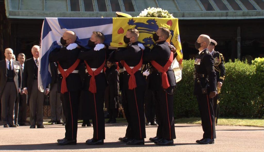 Edinburgh Dükü Prens Philip için Kraliyet töreni düzenleniyor