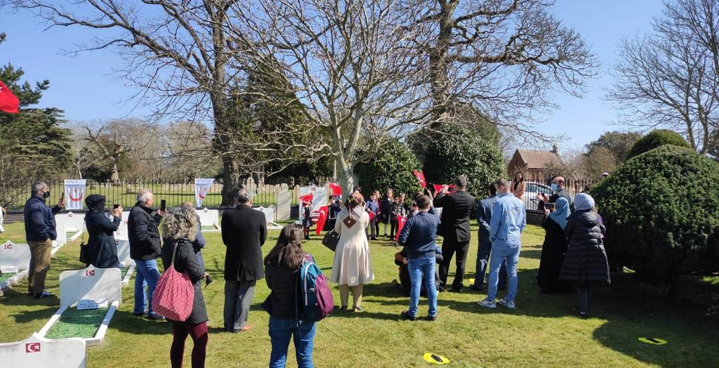 106th Anniversary of Çanakkale commemorated in Portsmouth