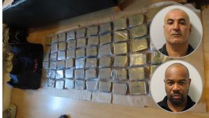 3 milyon poundluk eroin kaçakçılığı nedeniyle Yücetaş ve Hinds'e hapis cezası verildi