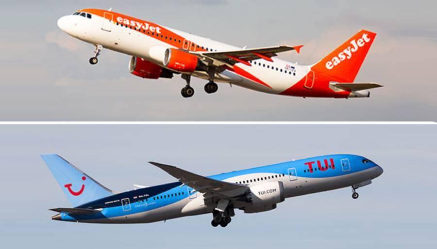 TUI ve EasyJet sezon için Jet2'dan farklı karar aldı