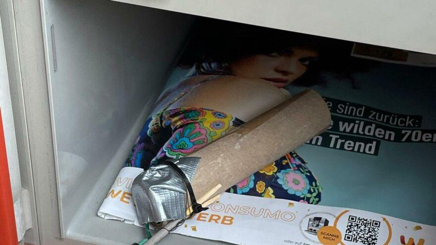 Posta kutusunda bomba bulundu