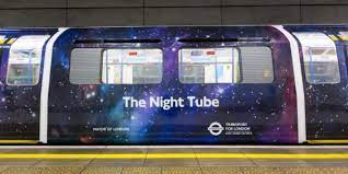 Night Tube to stay closed until 2022