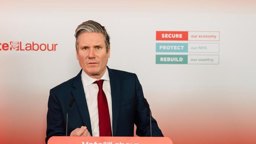 Starmer apologises for visiting to 'anit-LGBT+' church