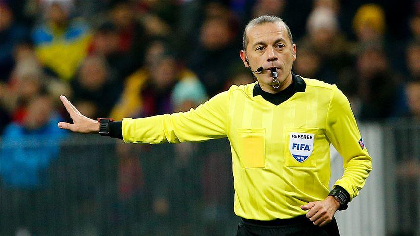 Cüneyt Çakır'a Slavia Prag-Arsenal maçında görev