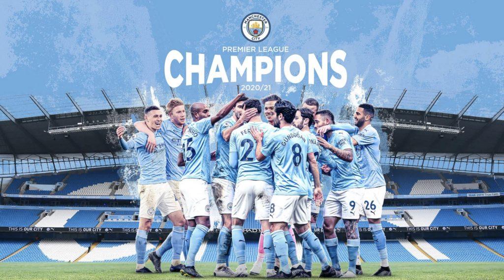 Premier Lig'de Manchester City şampiyon oldu