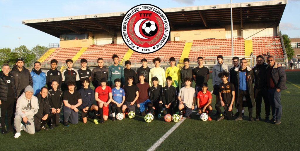TTFF Under 14-16 karması sahaya indi