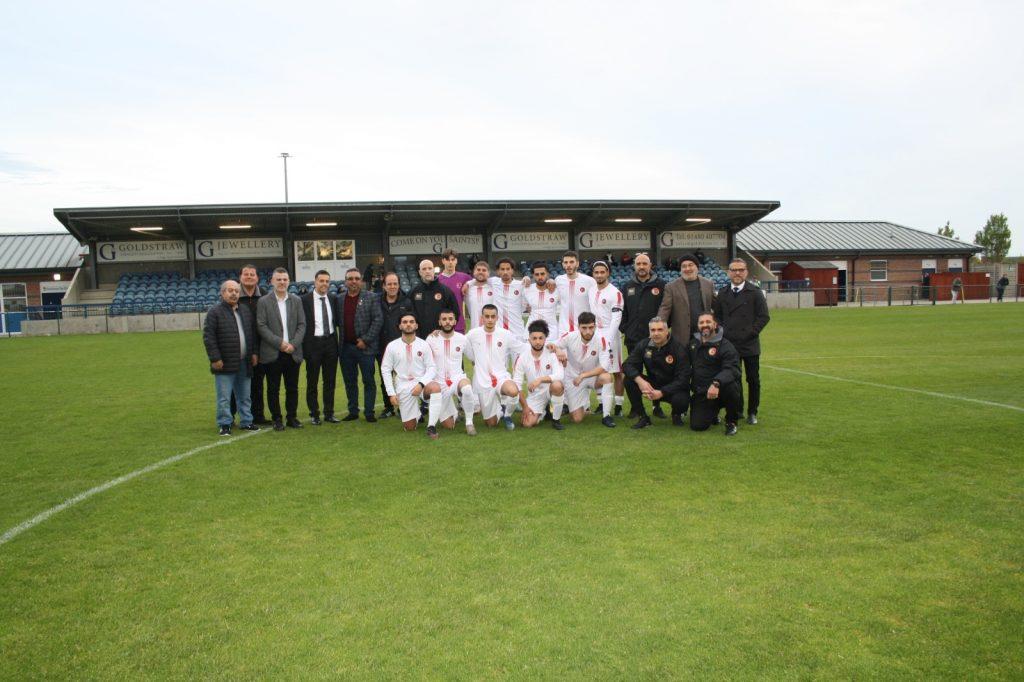 TTFF U21 ve St. Neots Town FC dostluk maçı berabere sonuçlandı