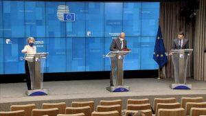 Avrupa Komisyonu Başkanı Ursula von der Leyen'den Belarus'a yaptırım kararı