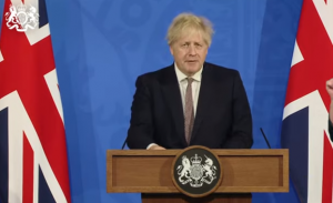 Johnson: England moving into step 3 next Monday