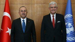 Çavuşoğlu: İsrail'i durdurmak için güçlü bir BM tepkisine ihtiyaç var