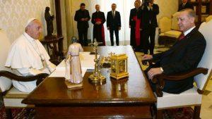 Erdoğan'dan Papa'ya 'Kudüs' telefonu
