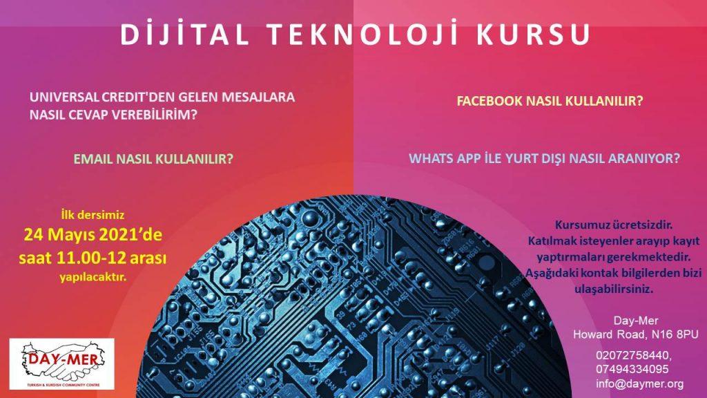 Day-Mer 'Dijital Teknoloji' kursları düzenliyor