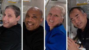 Dört astronot, SpaceX kapsülüyle dünyaya döndü