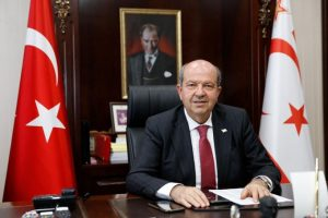 "TRNC President Ersin Tatar: ""TRNC will not be Gaza"""