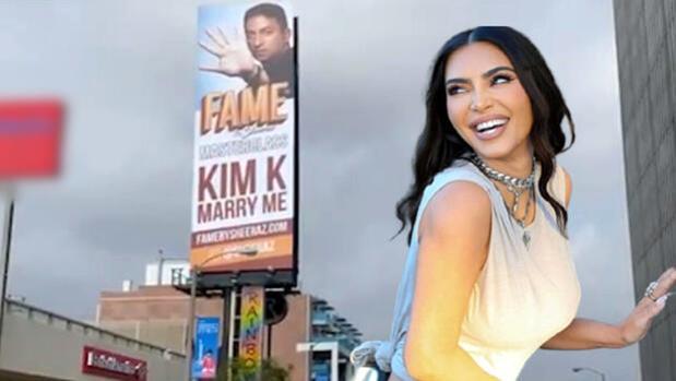 Hasan'dan Kardashian'a şehrin ortasında evlilik teklifi