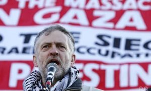 Eski İngiliz İşçi Partisi lideri Corbyn, İsrail'e tepki gösterdi