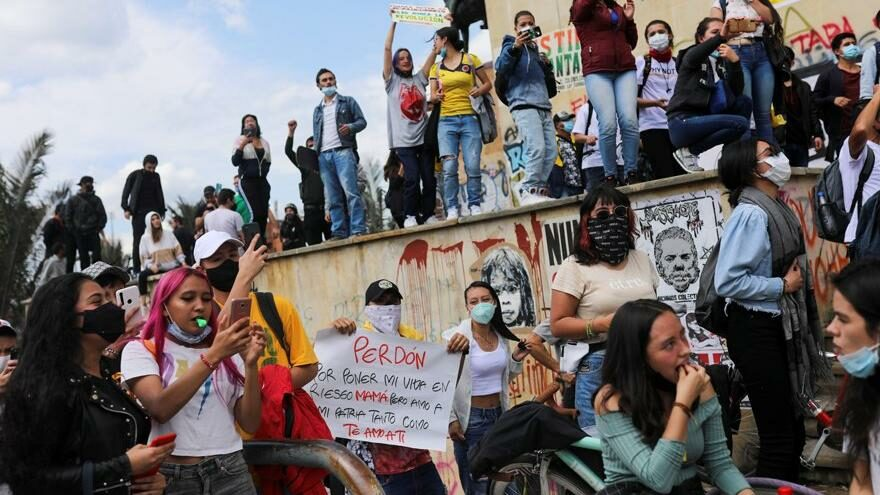 Kolombiya'da hükümetten geri adım: Görüşme çağrısı geldi