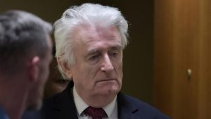 Savaş suçlusu Karadzic, hapis cezasının kalanını İngiltere'de çekecek