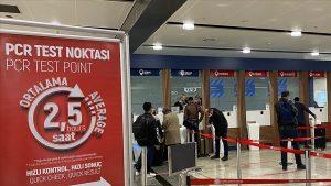 İngiltere'den Türkiye'ye uçakla gidecek yolculardan PCR testi istenmeyecek