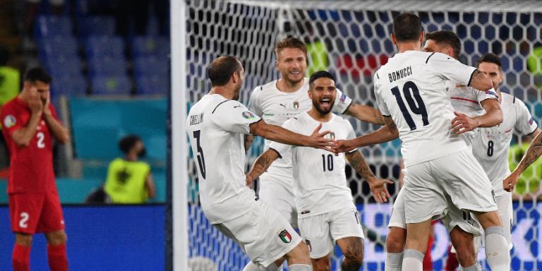 EURO 2020'nin açılış maçında İtalya, Türkiye'yi 3-0 mağlup etti
