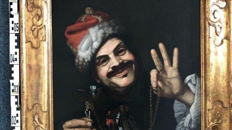 Almanya'da dinlenme tesisinde 400 yıllık tablolar bulundu