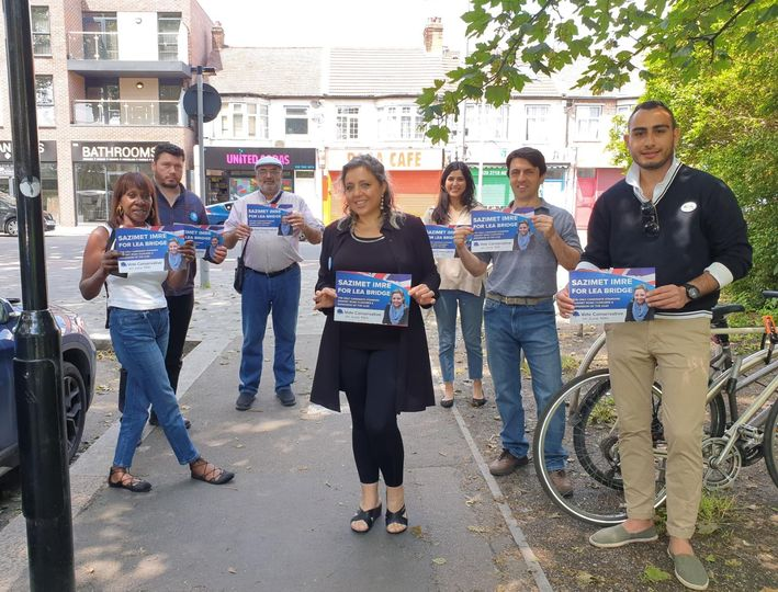 Election day for Sazimet Imre in Waltham Forest by-election