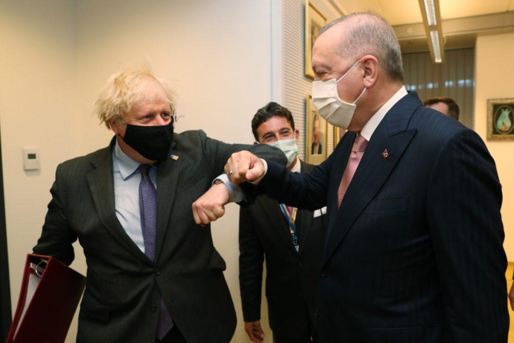 Johnson ve Erdoğan görüşmesine ilişkin açıklama